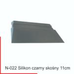 silikon c\arny skośny - idealny do folii stone protect grafiwrap