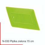 płytka zielona 15 cm - sprzedaż firma FOLIGGO