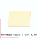 rakla filcowa grubość 12 mm - twarda